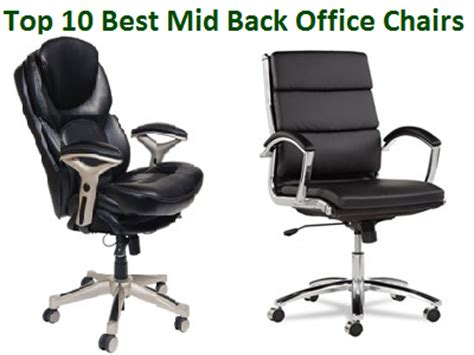 Top 10 Office Chairs by Top 10 Best Mid Back Office Chairs Ultimate Guide