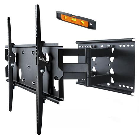 Tv Wall Mount 37 60 quot led lcd plasma tv motion tilt swivel pivot wall mount slim bracket plb127b bl selby