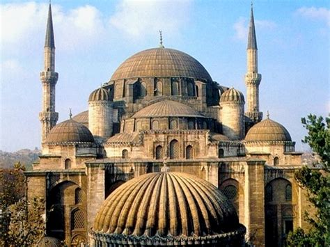 ottoman mosque architecture şehzade mosque istanbul turkey 1543 1548 architect