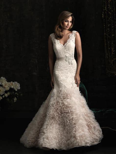 blush colored wedding dresses blush wedding dress dressed up