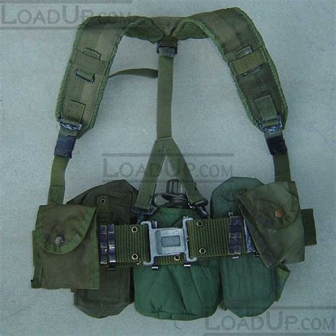 Harness With Belt lc 1 lbe harness with canteen 5 pouches and belt