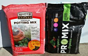 potting soil challenge small scale life