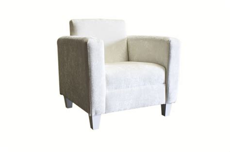 white fabric armchair soft furnishings total event rental