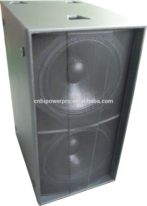 Speaker Subwoofer 18 professional dual 18 inch subwoofer speaker box martin audio subwoofer 18 inch passive speakers