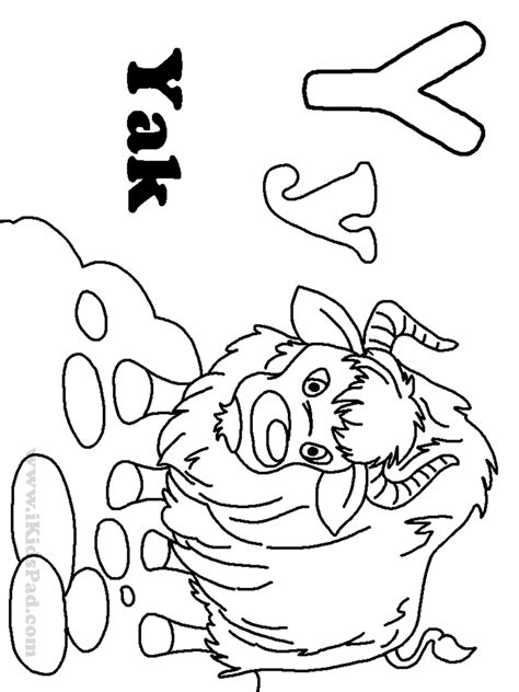 Letter Y Coloring Pages by Free Coloring Pages Of I Letter Y