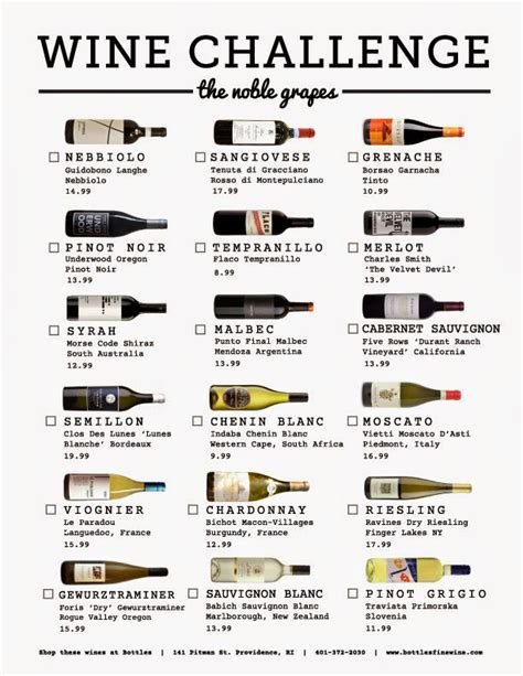 wine challenge new year new wines the bottles noble grape wine