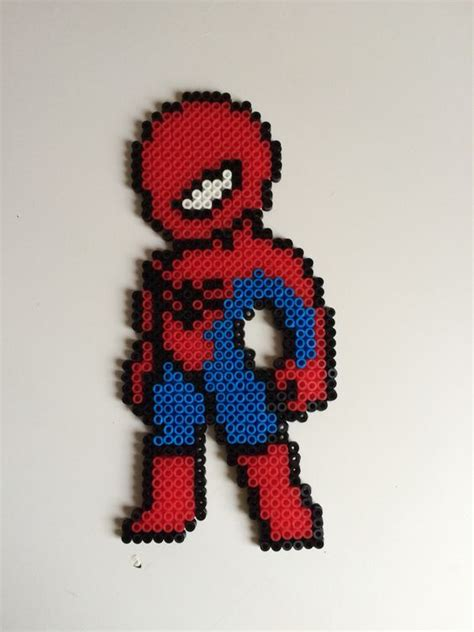 spiderman hama pattern hama beads spiderman hama beads pinterest spiderman