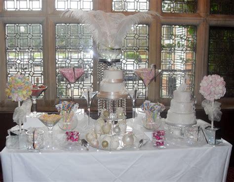 marshmellow centerpiece for wedding table