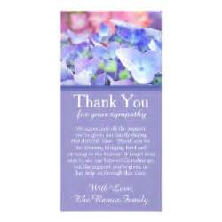 funeral thank you cards photo card templates invitations more