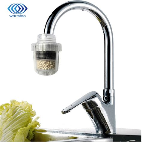 Kitchen Faucet Water Purifier 1pc Water Clean Purifier Coconut Carbon Purifier Filter