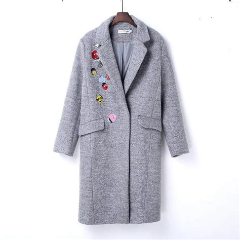 8 Cutest Winter Coats For by Olgitum Winter Coat Small Embroidery Wool