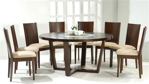 stylish wood and glass top table and four chairs