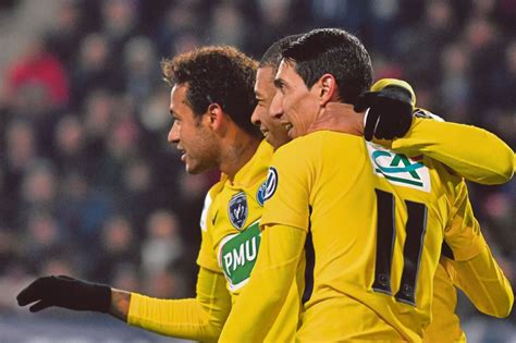 neymar biography in french neymar mbappe and di maria all bag two as psg run riot in