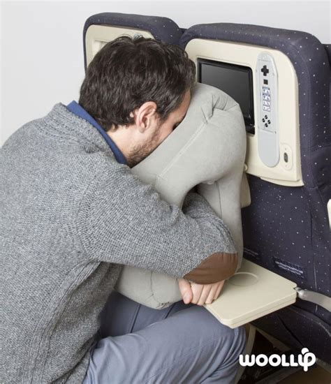 travelling pillow woollip an travel pillow for sleeping on planes