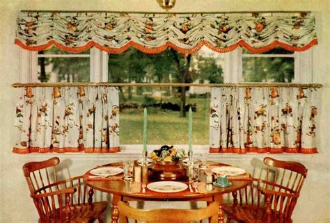 kitchen cafe curtains ideas gallery for gt retro kitchen cafe curtains