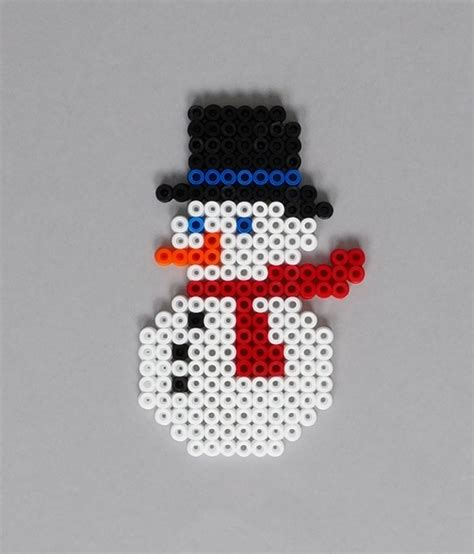 Modele Perle Hama Noel