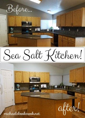 our coastal home painting the kitchen sea salt salts the o jays and home painting