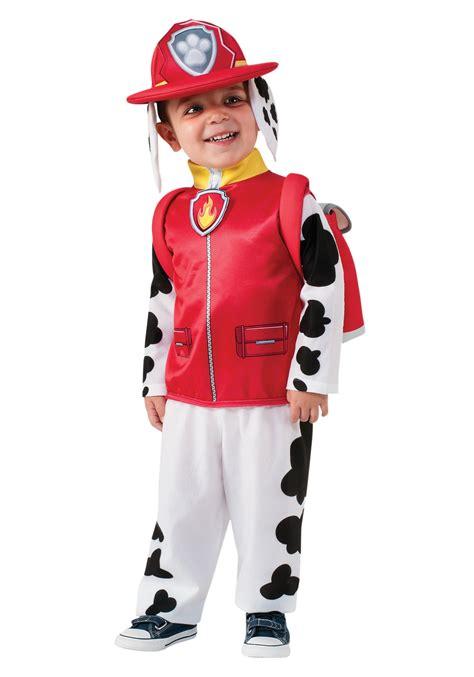 paw patrol costume paw patrol marshall child costume