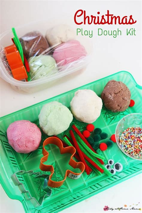 christmas dough recipe play dough kit sugar spice and glitter