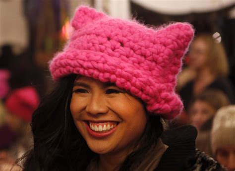 how these los angeles born pink hats became a worldwide