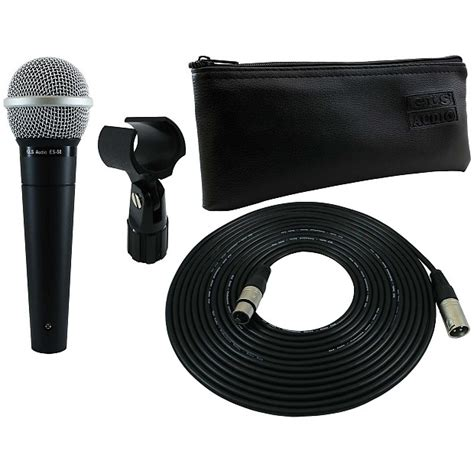 Cable Clip Velcro Bisa Dipotong gls audio mic package es 58 mic 25ft mic cable mic bag reverb