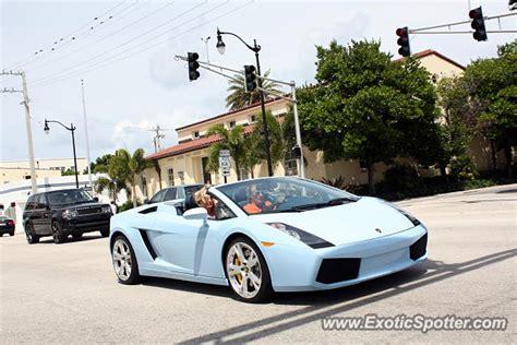 Lamborghini West Palm Lamborghini Gallardo Spotted In West Palm Florida