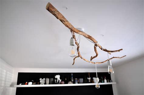 Diy Branch Chandelier Nature Inspired Diy Tree Branch Chandelier Shelterness