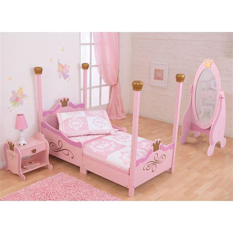 Toddler Princess Beds by Kidkraft Princess Toddler Bed Pink 76121 Toddler