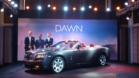 roll royce india rolls royce dawn india launch details images price and