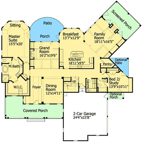 low country floor plans plan 15710ge low country craftsman simplicity house plans divider walls and pantry