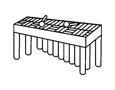 dibujos para colorear xilofono dibujo de xil 243 fono orquesta para colorear dibujos net