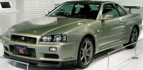 Nissan Skyline Gt R 34 Skala 43 Merk Mtech Limited Edition r34 スカイライン 買取相場