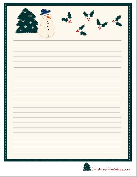 printable christmas note paper free 15 best photos of cute stationery designs free printable