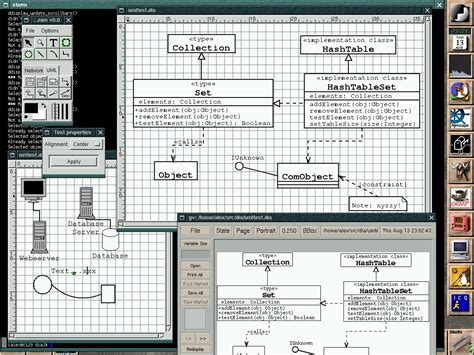 dia visio dia in on linux the tech teapot