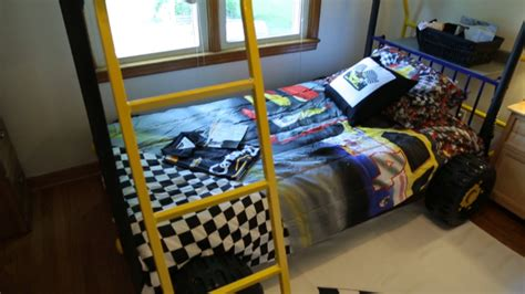 cing themed bedding one surprise after another for cute kid overcoming illness