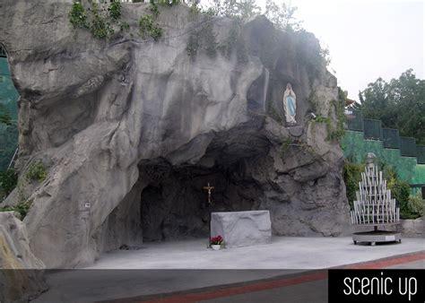vasche di lourdes grotte di lourdes in roccia artificiale scenic up