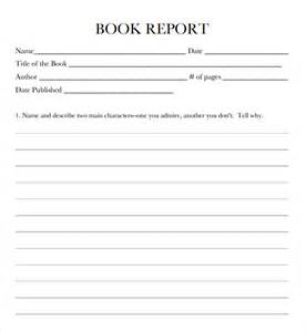 book templates for 9 free book report templates excel pdf formats