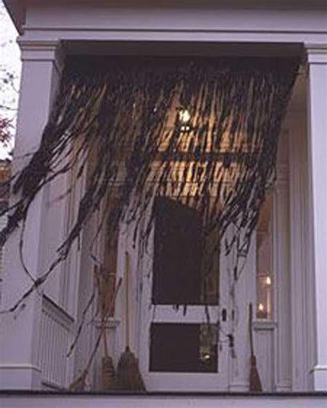 spooky curtains 26 diy ideas how to make scary halloween decorations with