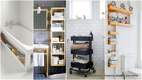 storage ideas bathroom 20 smart bathroom storage ideas that will impress you