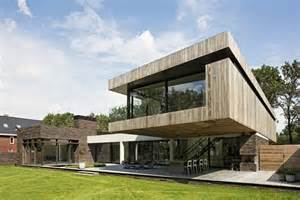 L Shaped Houses L Shaped Modern Villa In The Netherlands House At The