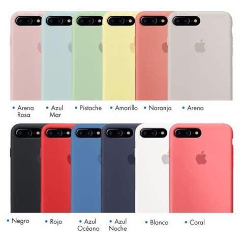 fundas silicona iphone funda de silicon iphone 8 plus apple silicona eg 458