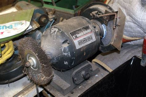 ohio forge bench grinder just let lynn do it east dallas estate sale starts on 3 3