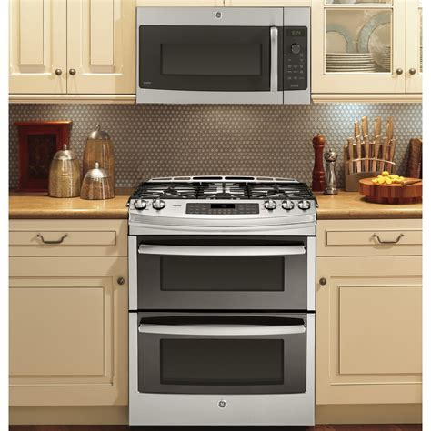 range oven pgs950sefss ge profile series 30 quot slide in front oven gas range stainless steel