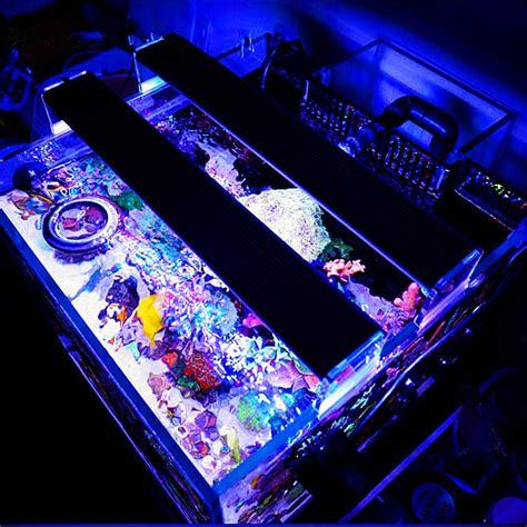 Lu Led Aquarium Bandung a451m 27w 45cm 5730 81smd 3500lm led coral sps lps aquarium sea reef tank light alex nld