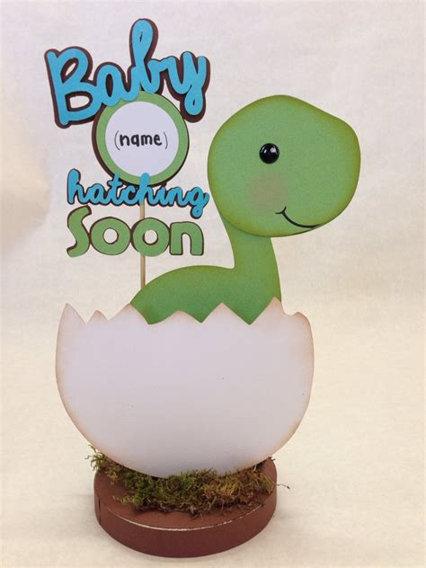 Dinosaur Baby Shower Decorations by Baby Dino Dinosaur Centerpiece Baby Shower By Divadecorations