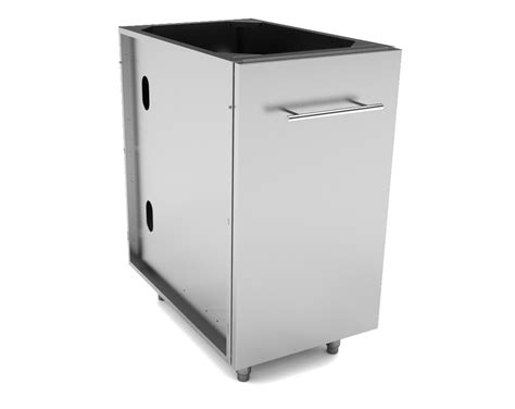 Garbage Drawer Cabinet by Stainless Steel Cabinets Trash Drawer Cabinets