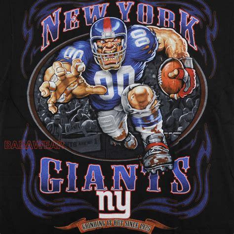 ny giants fan gear giants running back t shirt black nfl ny new york football