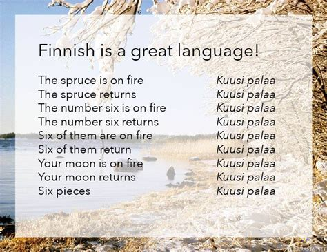 the wonders of language the wonders of the finnish language europe
