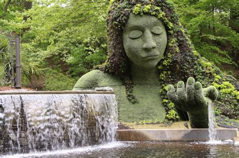 The Atlanta Botanical Garden Earth Goddess Mosaiculture Sculpture Picture Of Atlanta Botanical Garden Atlanta Tripadvisor
