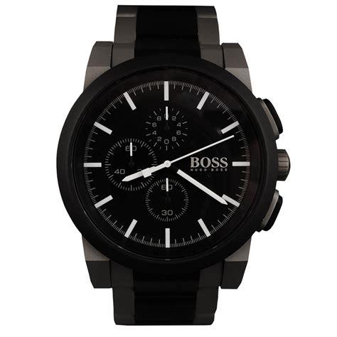 Hugo Bos Black hugo black watches new